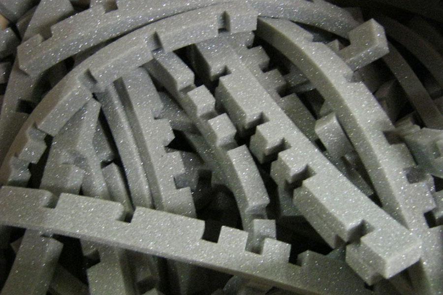 Prototype Cut Foam Parts